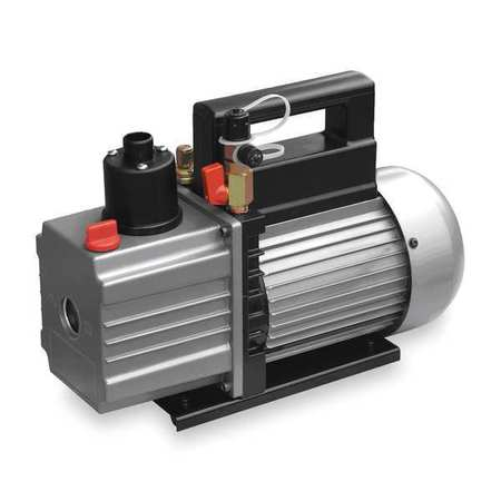 Refrig Evacuation Pump, 5.0 cfm, 6 ft.