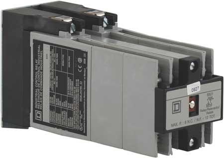 NEMA Control Relay, 10NO, 480VAC, 10A