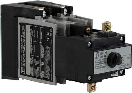 Latching NEMA Contrl Relay, 4NO, 24VDC, 10A