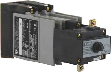 Latching NEMA Contrl Relay, 6NO, 24VAC, 10A