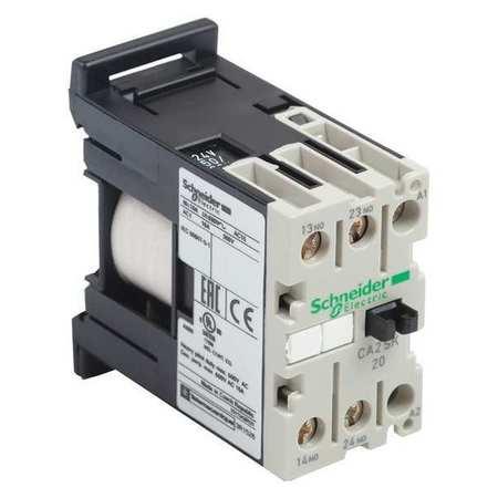 IEC Control Relay, 1NO/1NC, 240VAC, 10A