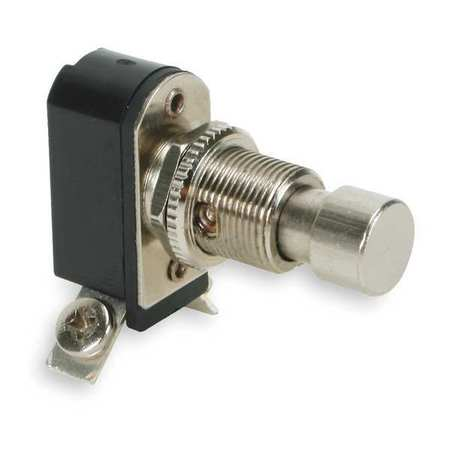 Miniature Push Button Switch, 6A @ 125V