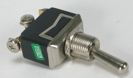 Toggle Switch, SPDT, 15A @ 277V, Screw