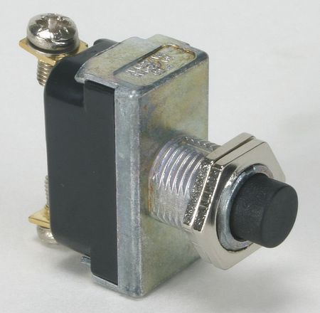 Miniature Push Button Switch, 16A @ 125V