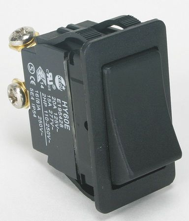 Rocker Switch, SPST, 2 Connections