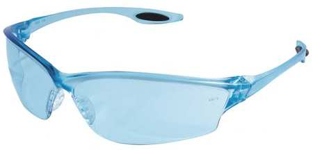 Condor Light Blue Safety Glasses,  Scratch-Resistant,  Wraparound