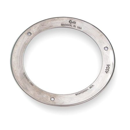 Flange, Stainless Steel, 5  9/16 In
