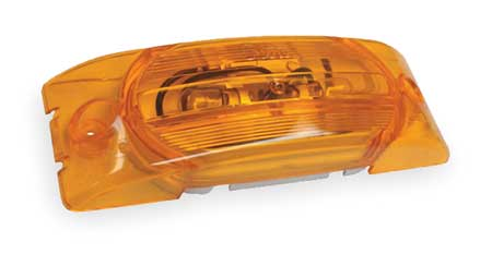 Marker Lamp, Turtleback, No Splice, Yellow