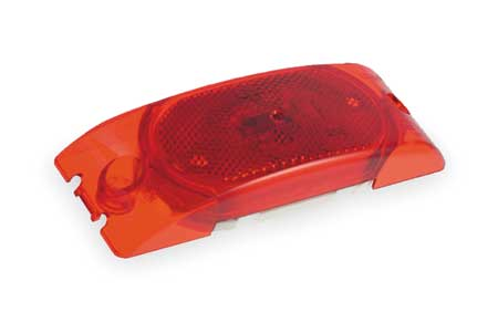 Marker Lamp,  With Reflector, 2 Bulb, Red