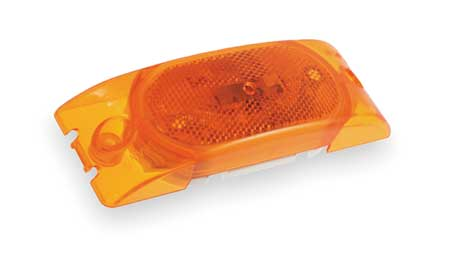 Marker Lamp,  With Reflector, 2 Bulb, Ylw