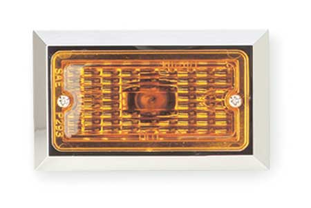 Marker Lamp, Rectangular, Yellow