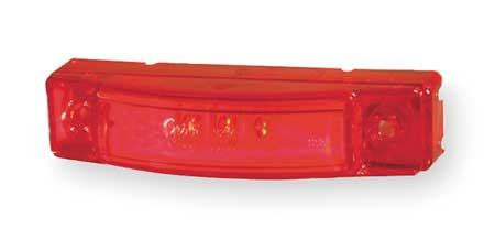 Marker Lamp, LED Dual Intensity, Red