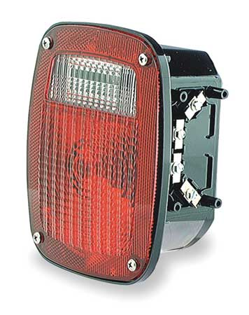 Three-Stud Replacement Lamp, RH, Red