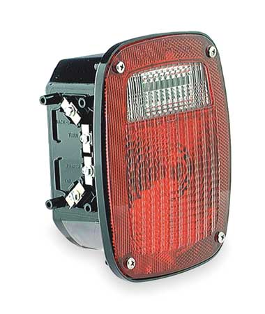 Three-Stud Replacement Lamp, LH, Red