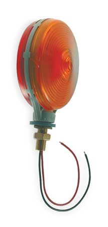 Turn Lamp, DoubleFace, ThinLine, Red/Yellow