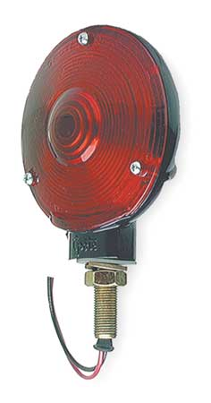 Lamp, Single Face, Red