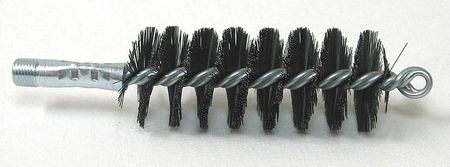 Flue Brush,  OAL 6 1/2 In