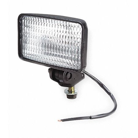 Composite Work Lamp, Flood, Clear