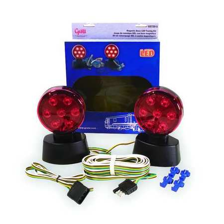 Towing Kit, Magnetic Base, LED, 12 Volt