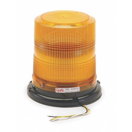 Strobe Light, Yellow, Permanent, LED