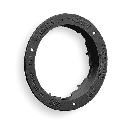 Flange, Polycarbonate, 5 9/16 In