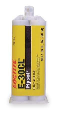 Epoxy, Hysol 30-CL, Clr, 50mL, Cartridge