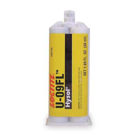 Poly Adhesive, 2 Part, Clr, 50mL, Cartridge