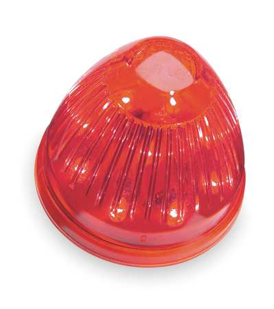 Marker Lamp, LED, Beehive, 2 In, 9 Diode, Red