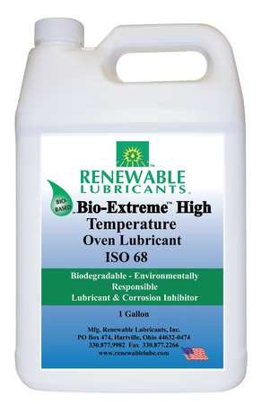 Oven/Chain Lube, Bio-Extreme HT 68, 1 Gal