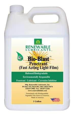 Penetrant Lubricant, Bio-Blast, 1 Gal