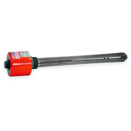 Screw Plug Immersion Heater, 94 sq. in.