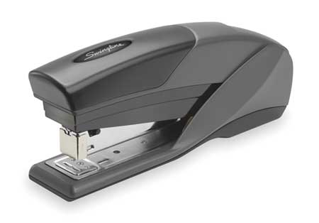 Reduced Effort Stapler, 20 Sheet, Blk/Gray