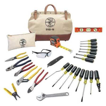 Klein Tools General Hand Tool Kit, No. of Pcs. 28 80028 ...
