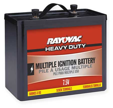 Lantern Battery, Multiple Ignition, 7.5V