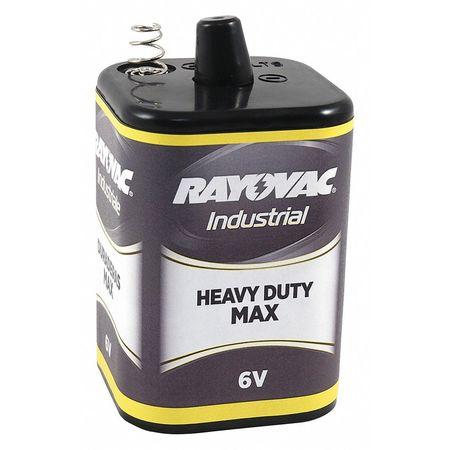 Lantern Battery, Heavy Dty, 6V, Spring Term