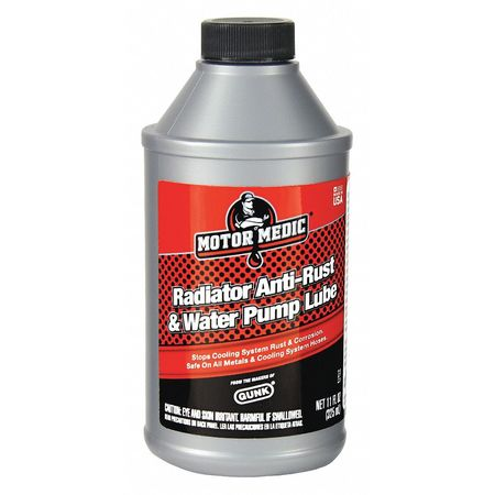 Radiator Anti-Rust, Water Pump Lube, 11 Oz