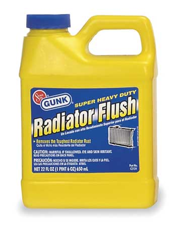 Radiator Flush, HD, 22 Oz