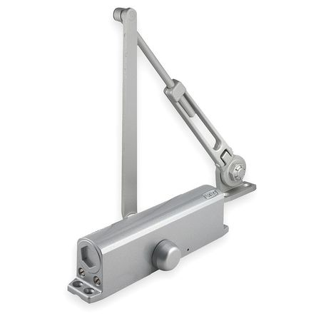 Door Closer, Hold Open, L 9 13/16 In