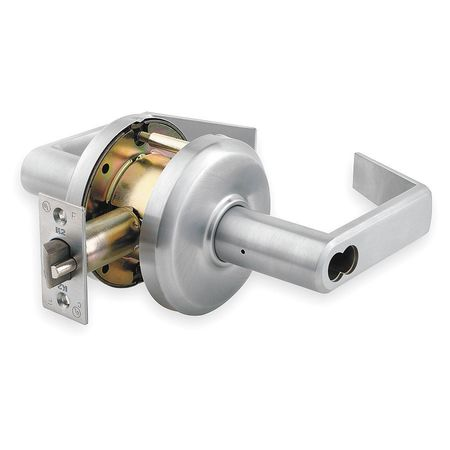 Lever Lockset, Mechanical, Storeroom