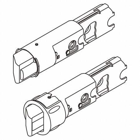 "Replacement Latch Core, 2-3/8"" and 2-3/4"""