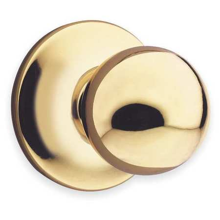 Knob Lockset, Mechanical, Passage, Grd. 3