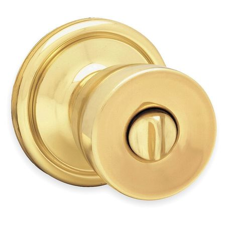 Knob Lockset, Mechanical, Privacy, Grd. 2