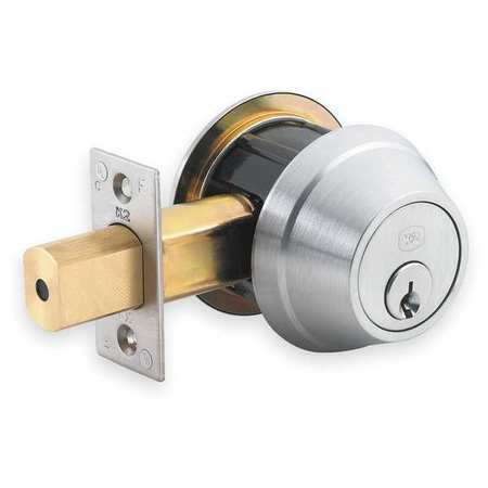 Deadbolt, HD, Satin Chrome