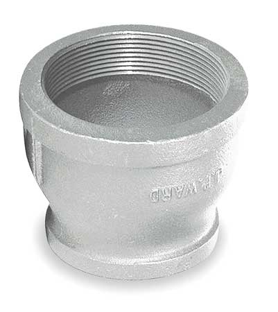 "2-1/2"" x 1"" FNPT Galvanized Reducer"