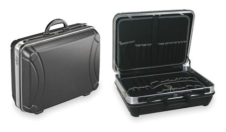 Tool Case, 38 Pockets, 18 3/4 In W