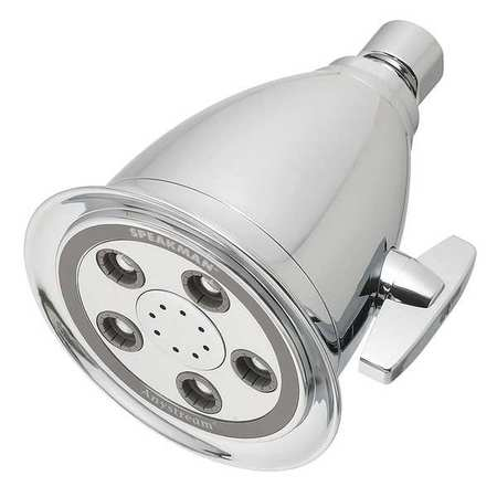 Showerhead, Wall Mount, 50 Spray Channels