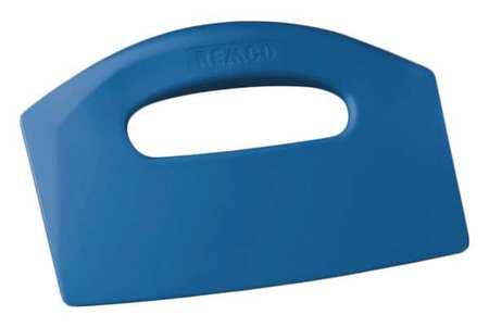 Bench Scraper, Poly, Blue, 8 1/2 x 5 In