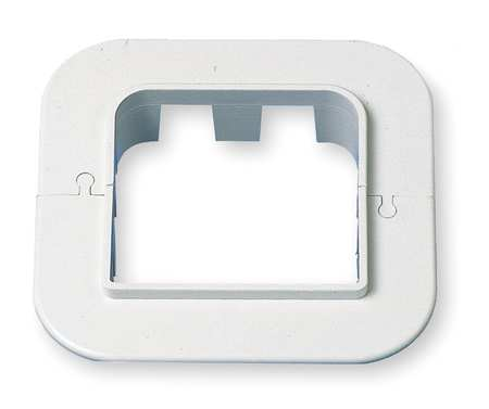 Wall Escutcheon, 4-3/4 In. L, 4-1/4 In. H