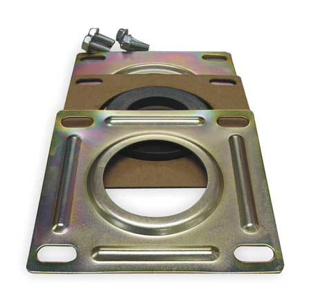 Suction Flange, hyd, Steel, For 1.5 In Pipe