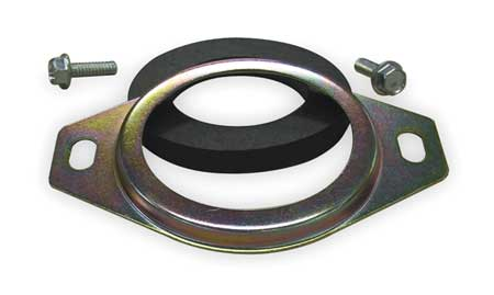 Return Flange, hyd, Steel,  For 1 1/2 Pipe